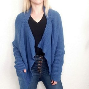 BCBGMAXAZRIA Cozy Open Knit Cardigan Sweater